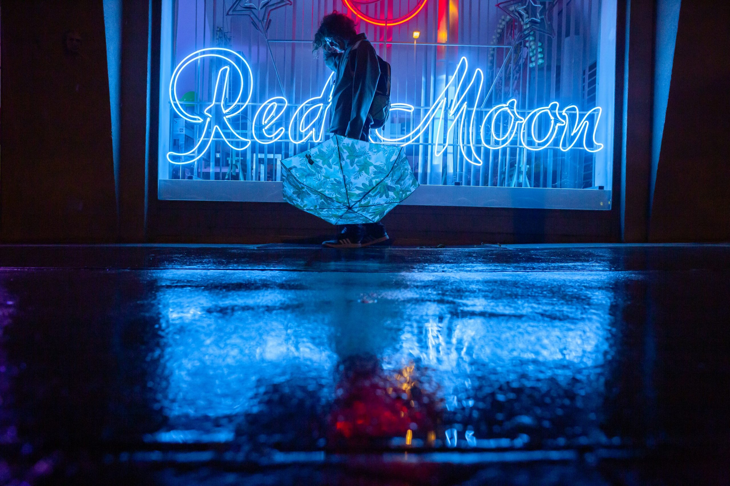 Portrait nightshooting_lifestyle_rain Photography_Christina Hein